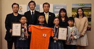 三島市の豊岡市長へ表敬訪問しました。